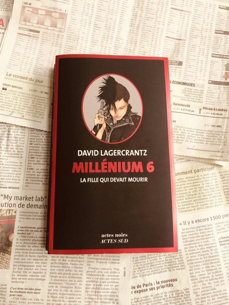 avis lecture David LAGERCRANTZ Millenium 6