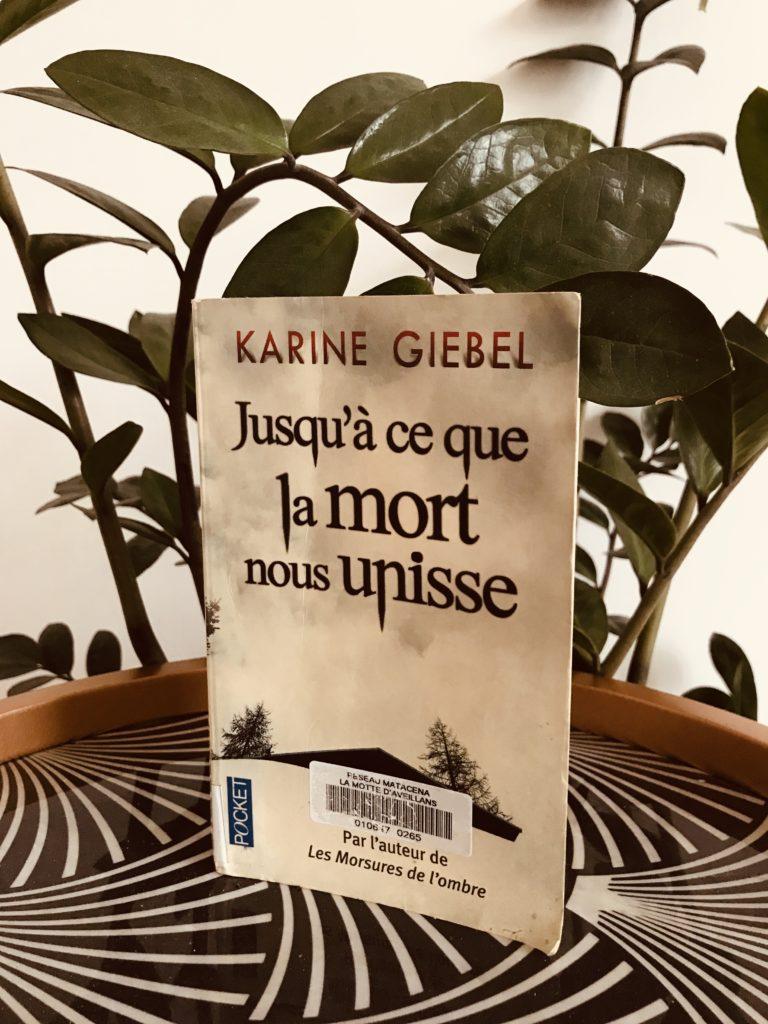 avis lecture Karine Giebel