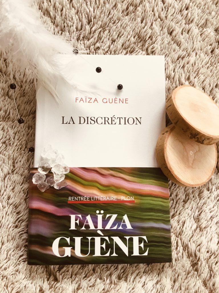 Faïza Guène La Discrétion Photo de couverture