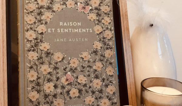 avis lecture Jane Austen Raison et Sentiments